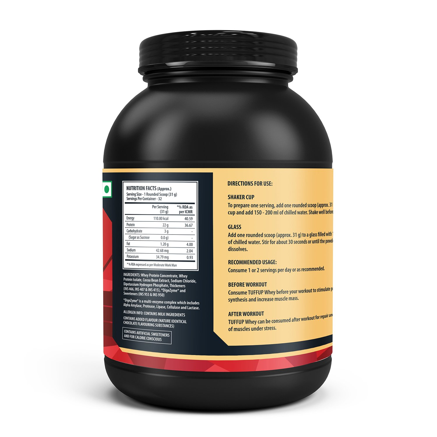 whey 80 protein per portion