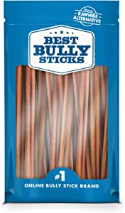 12-inch Supreme Bully Sticks by Best Bully Sticks All Natural Dog Treats