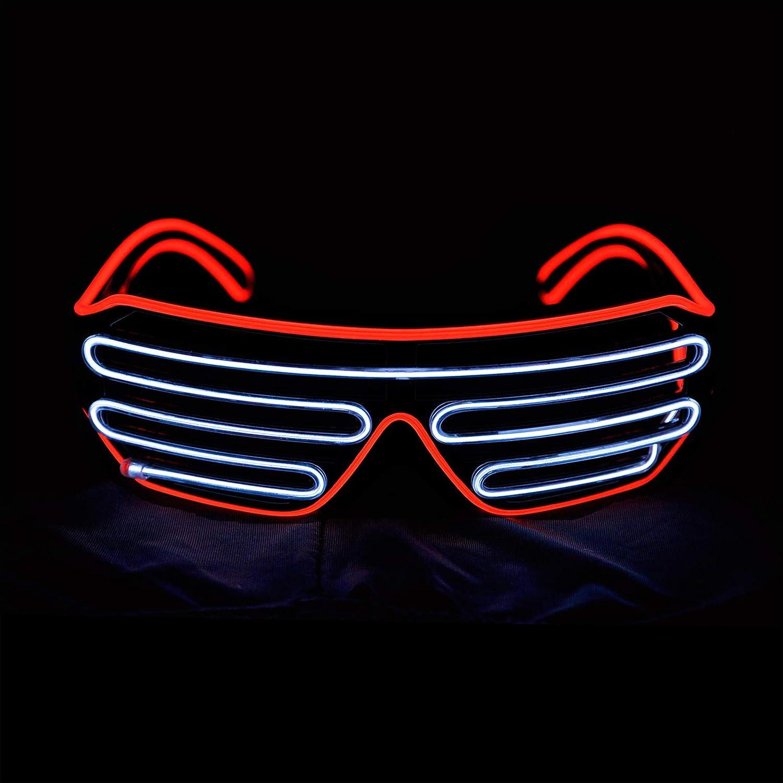 Luminous LED Glowing Glasses Flashing Blink Glasses Bar Party DJ Clothing Props