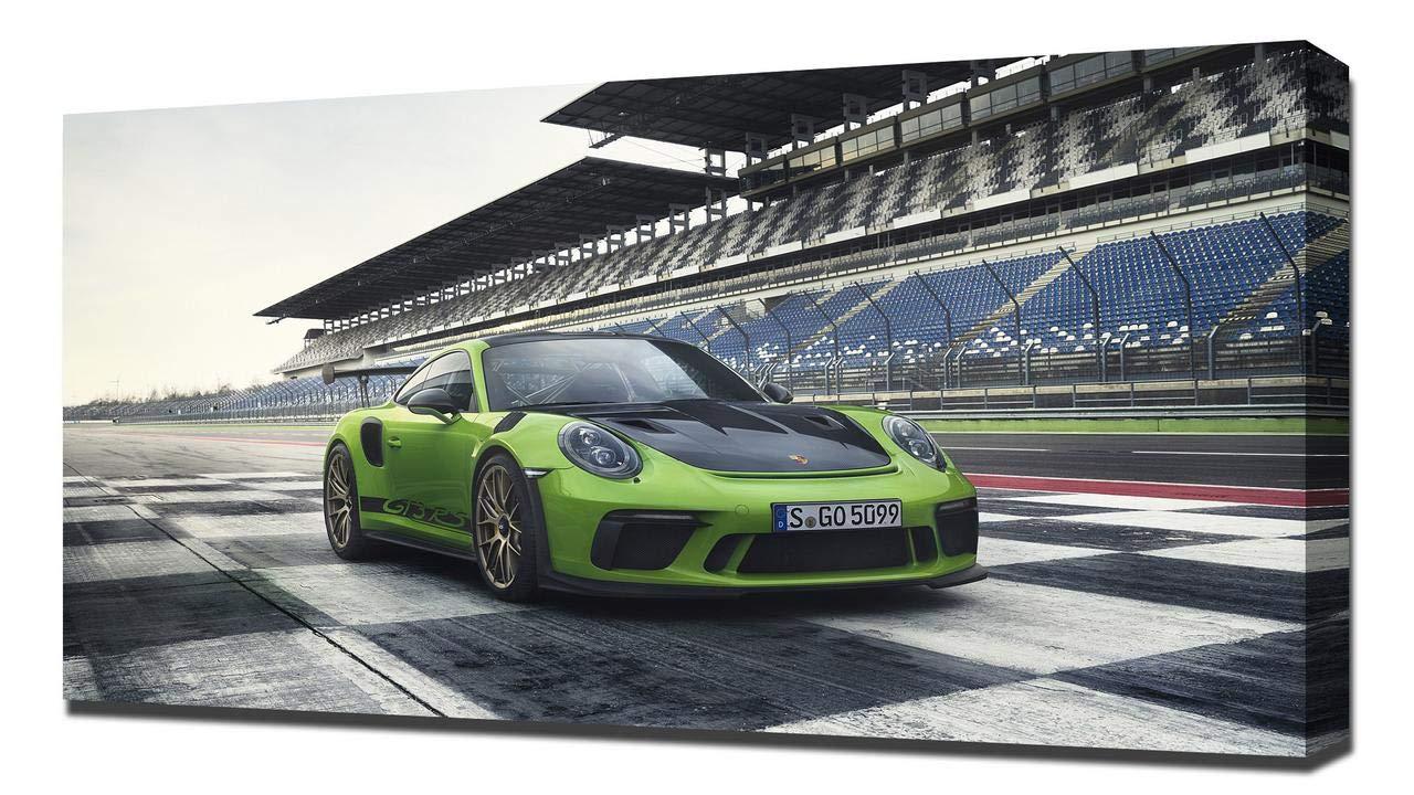 2019 Porsche 911 GT3 RS V1 - Reproducción Lienzo - Arte Enmarcado Impresión De Lienzo: Amazon.es: Hogar