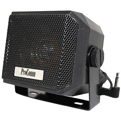 Procomm JBCSP5 Mini External Speaker, SMALL CB EXTERNAL SPEAKER: GPS & Navigation