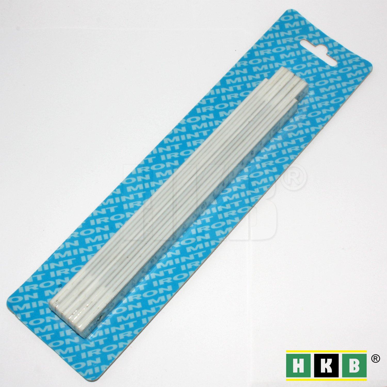 2m HKB /® 1 St/ück Zollstock Kunststoff wei/ß 303460000 Artikel-Nr
