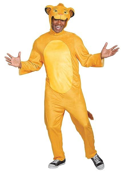 Amazon.com: Disfraz de Simba de Rey León para adulto: Clothing