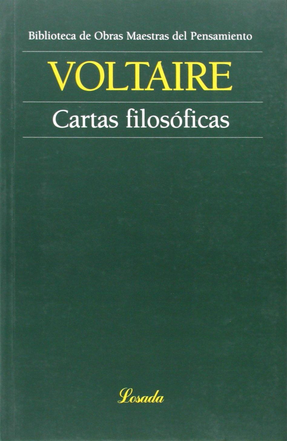 Cartas filosóficas: VOLTAIRE: 9789500399098: Amazon.com: Books