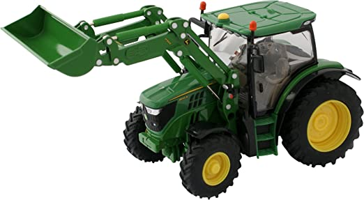 John Deere - Tractor 7230R (Bizak 30693089): Amazon.es: Juguetes y juegos