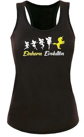 Einhorn Evolution - Entwicklung Fee zum Einhorn - Damen Tanktop