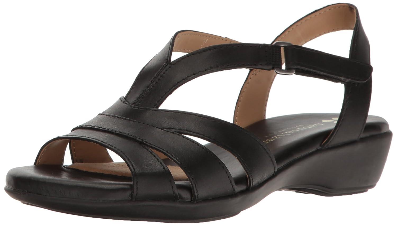Naturalizer Women's Neina Huarache Sandal B01I31W6IG 8.5 N US|Black