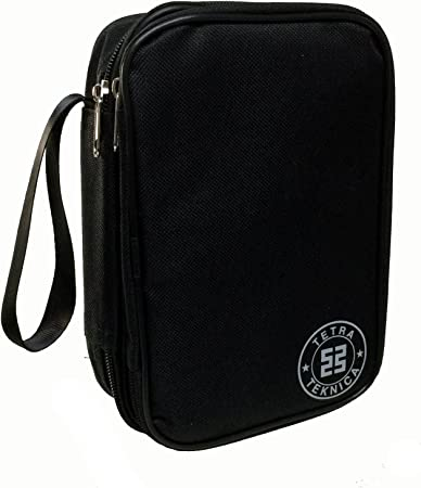 Essentials serie MCH-01 doble y acolchado cremallera estuche con correa para la muñeca para multímetro portátil, Color negro: Amazon.es: Bricolaje y herramientas