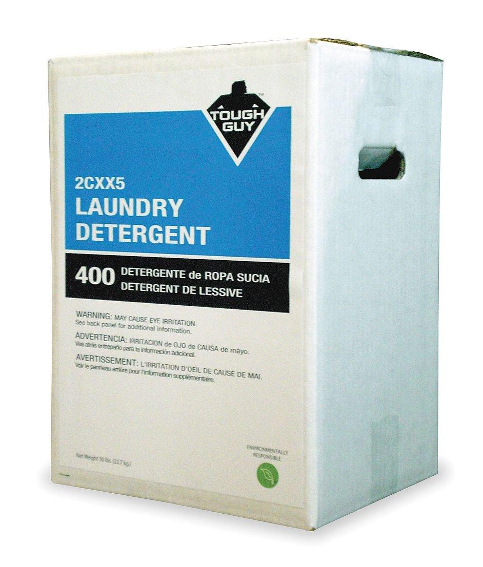 TOUGH GUY 50 lb. Box Citrus Powder Laundry Detergent, White by Tough Guy