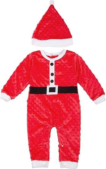 GRACE KARIN Niño Bebé Ropa de Santa Claus Disfraz de Papá Noel de ...