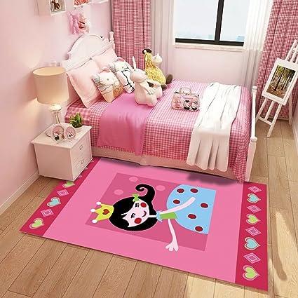 WAN SAN QIAN- Dormitorio de los niños creativos Alfombra de dibujos ...