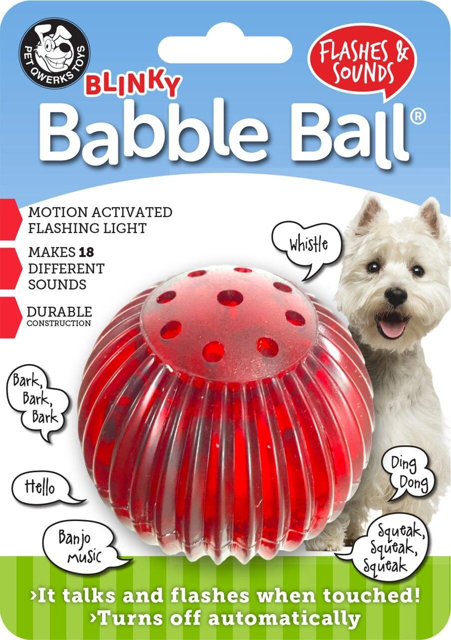 Pet Qwerks Blinky Babble Ball