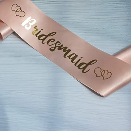 EJY Bride to be Sash Wedding Theme Decoration for Hen Night Party Bridesmaid
