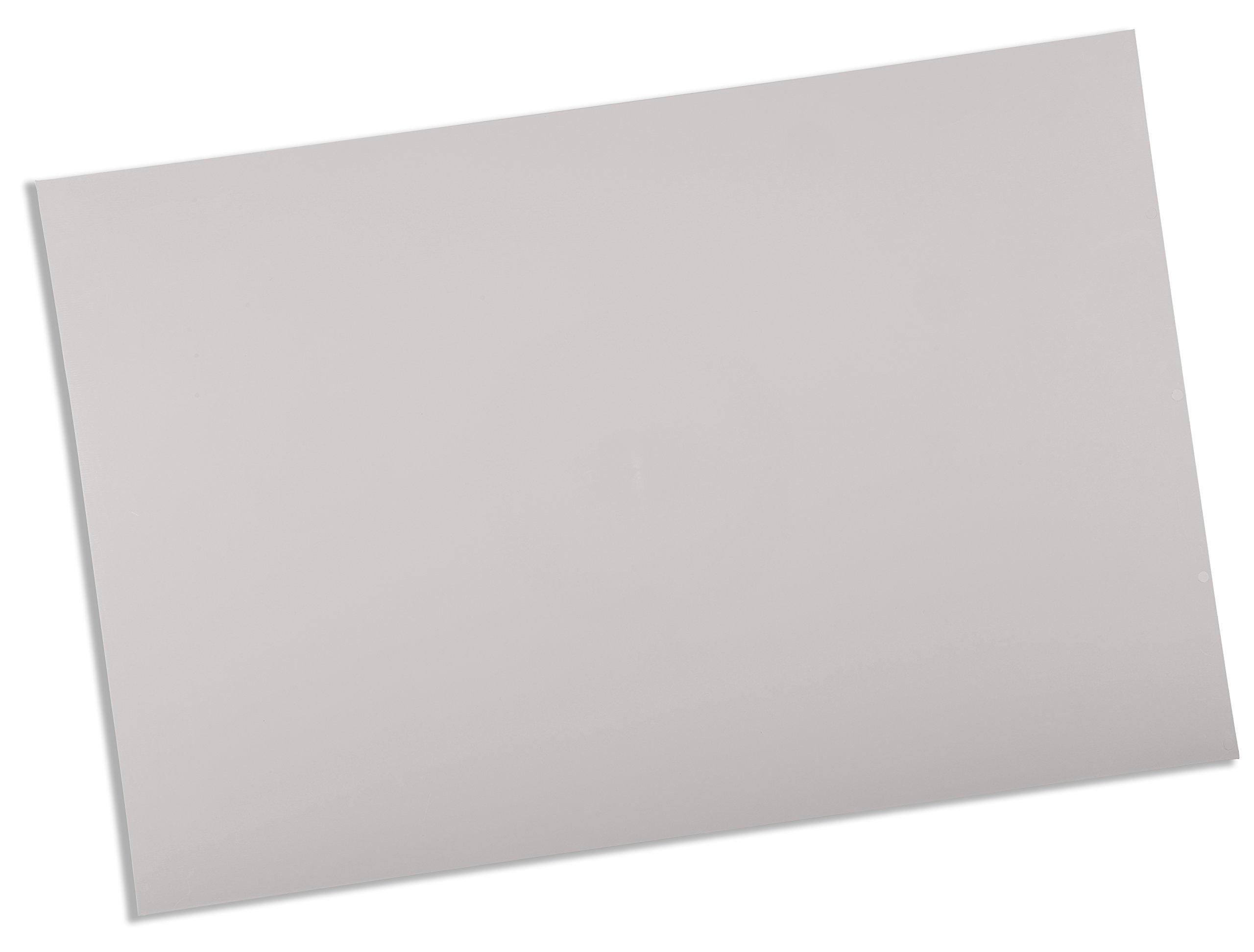Rolyan Splinting Material Sheet, Ezeform, White, 3/32'' x 18'' x 24'', Solid, 4 Sheets
