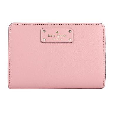 f5c695f71e0e3 Amazon.com  Kate Spade New York Tellie Grove Street Medium Wallet  (Pinkbonnet)  Clothing