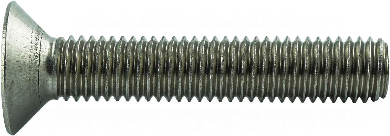 Gewindeschrauben Vollgewinde Edelstahl A2 V2A 10 St/ück Eisenwaren2000 T20 rostfrei M4 x 6 mm Senkkopfschrauben mit Innensechsrund TX - DIN 965 ISO 14581 Senkkopf Schrauben