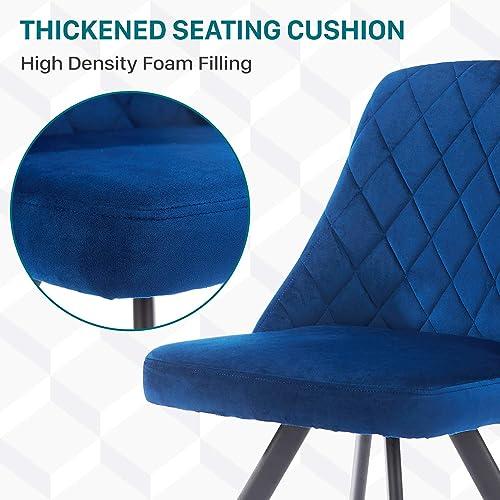 Modern Velvet Dining Chair Upholstered