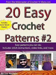 20 Easy Crochet Patterns Book 2