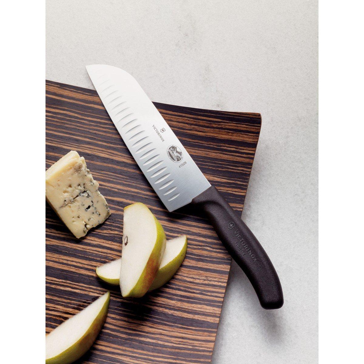 Victorinox Fibrox 7-Inch Granton Edge Santoku Knife Review