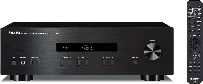 Yamaha A-S201 - Amplificador Hi-Fi estéreo black: Amazon.es ...