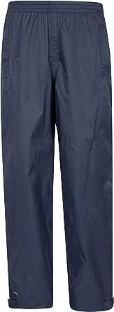 Mountain Warehouse Pulverizadores Impermeables para niños Spray - Pantalón Transpirable para niños para Cualquier época del año, pantalón de Lluvia con Costuras termoselladas