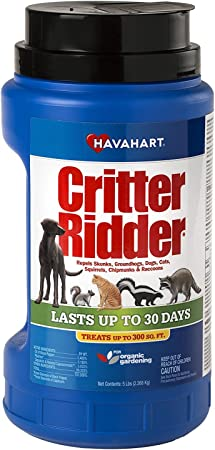 Amazon Com Havahart Critter Ridder 3146 Animal Repellent 5 Pounds Granular Shaker Home Pest Repellents Garden Outdoor
