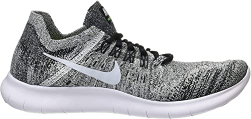Plano científico entrevista  Buy Nike Men's Free Rn Flyknit 2017 Black/Volt/White Running Shoe 10. 5 Men  US at Amazon.in