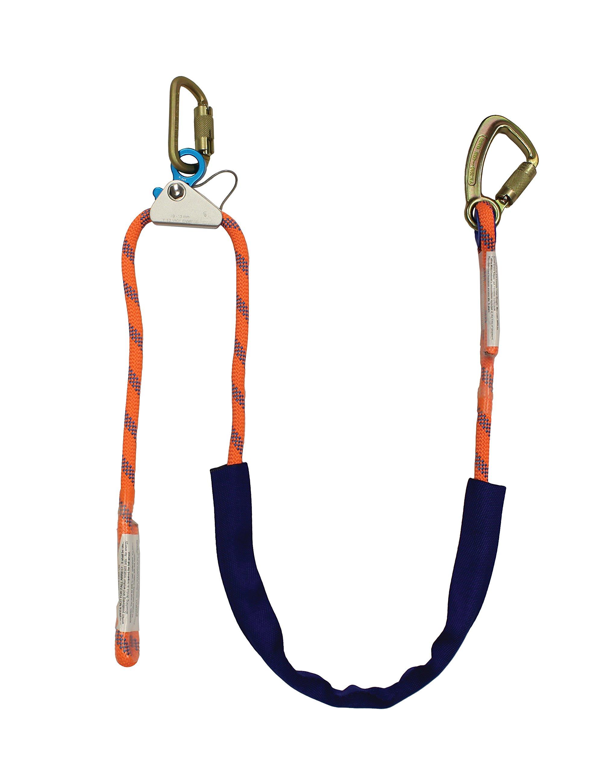Elk River 34496 1/2'' by 6' Quick Adjustable Rope Positioning Lanyard by Elk River
