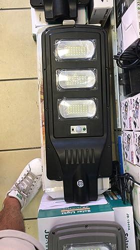 LAMPIONE STRADALE AD ENERGIA SOLARE FOTOVOLTAICO 60 LED 30W CON TELECOMANDO