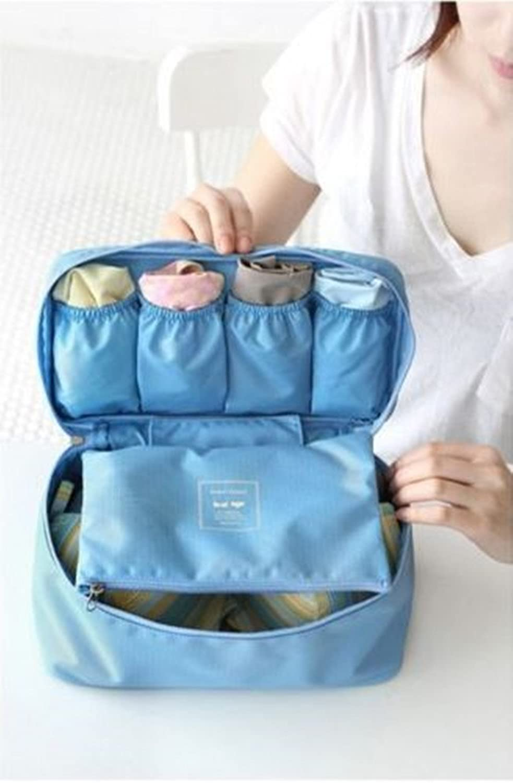 2a17d51b6c67 Amazing Kiss® Waterproof Women Girl Lady Portable Travel Bra ...