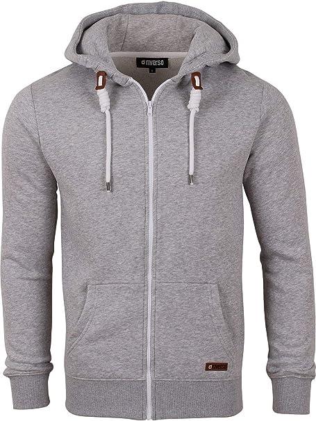 XL 2XL 3XL Herren Amerikanischer Stil Fleece mit Kapuze Hoodie Zip Größen S M L