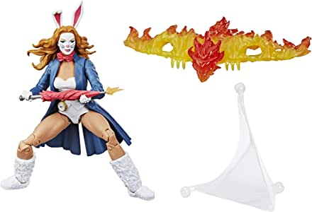 Hasbro Marvel Spider-Man Legends Series 6-inch Collectible Action Figure Marvel's White Rabbit Toy, Buid-A-Figure Pieces and Accessory