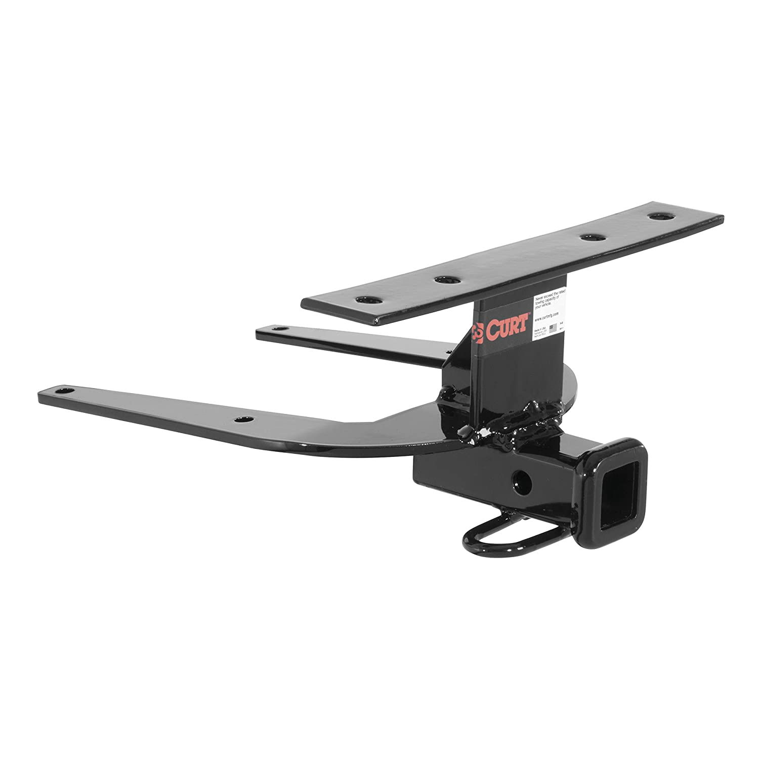Curt Manufacturing 112093 1-1//4 Class 1 Trailer Hitch Receiver with Ball Mount for 1992-2000 Honda Civic Hatchback