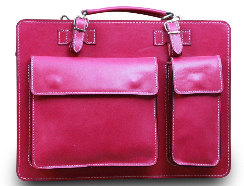 College Tasche Aktenkoffer Schule Tasche Lehrer Tasche Messenger Leder Tasche Vintage Rot, Farbe:Braun