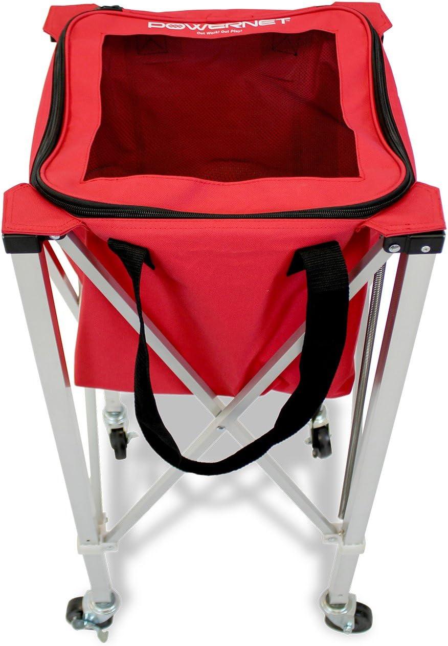 PowerNet roues Boule Caddy Chariot Pour Baseball Softball et tennis
