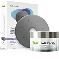 NEW NATURAFUL - Breast Enhancement Cream & Enhancement Patch BUNDLE - Natural Breast...