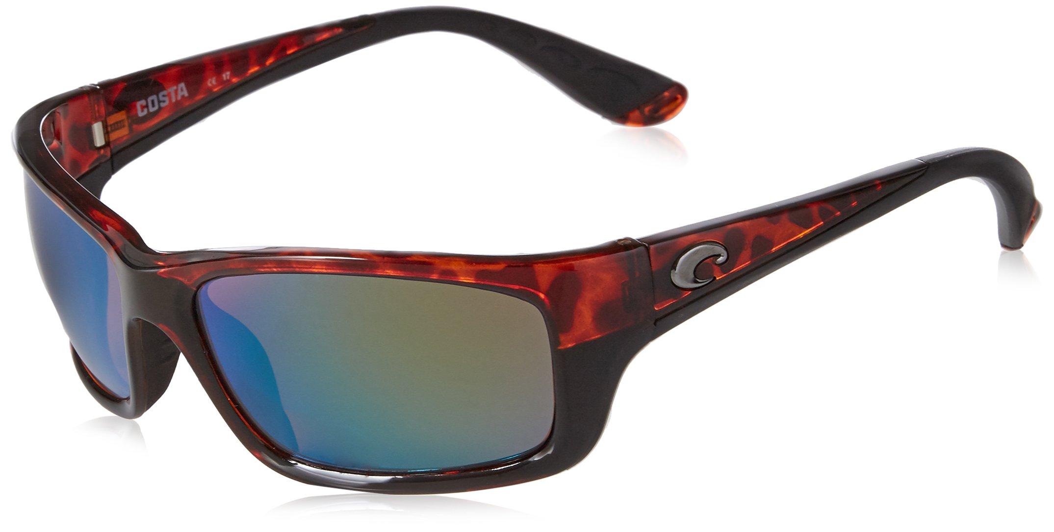 Costa del Mar Unisex-Adult Jose JO 10 OGMGLP Polarized Iridium Wrap Sunglasses