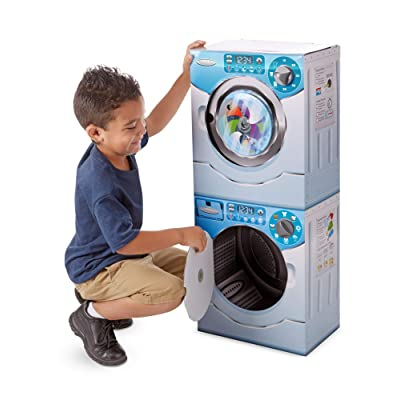 Melissa & Doug Washer/Dryer Combo: Toys & Games