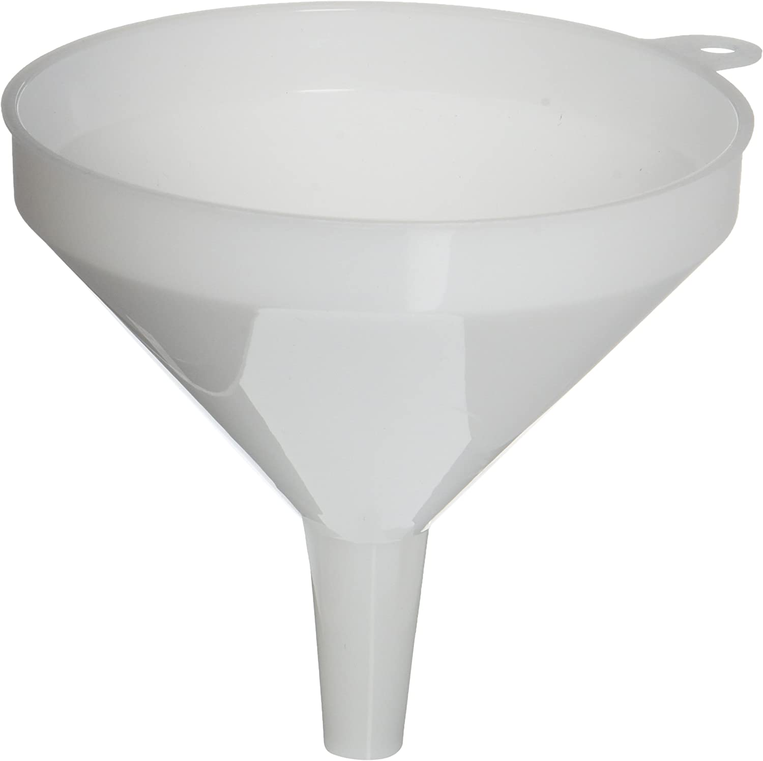 Winco PF-16 Plastic Funnel, 5.25-Inch Diameter,White,Medium