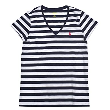 Ralph Lauren Sport Womens Lightweight V-Neck T-Shirt 2016 Model (XS,