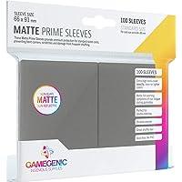 Gamegenic: Matte Prime Sleeves, Galápagos Jogos (Cinza Escuro)