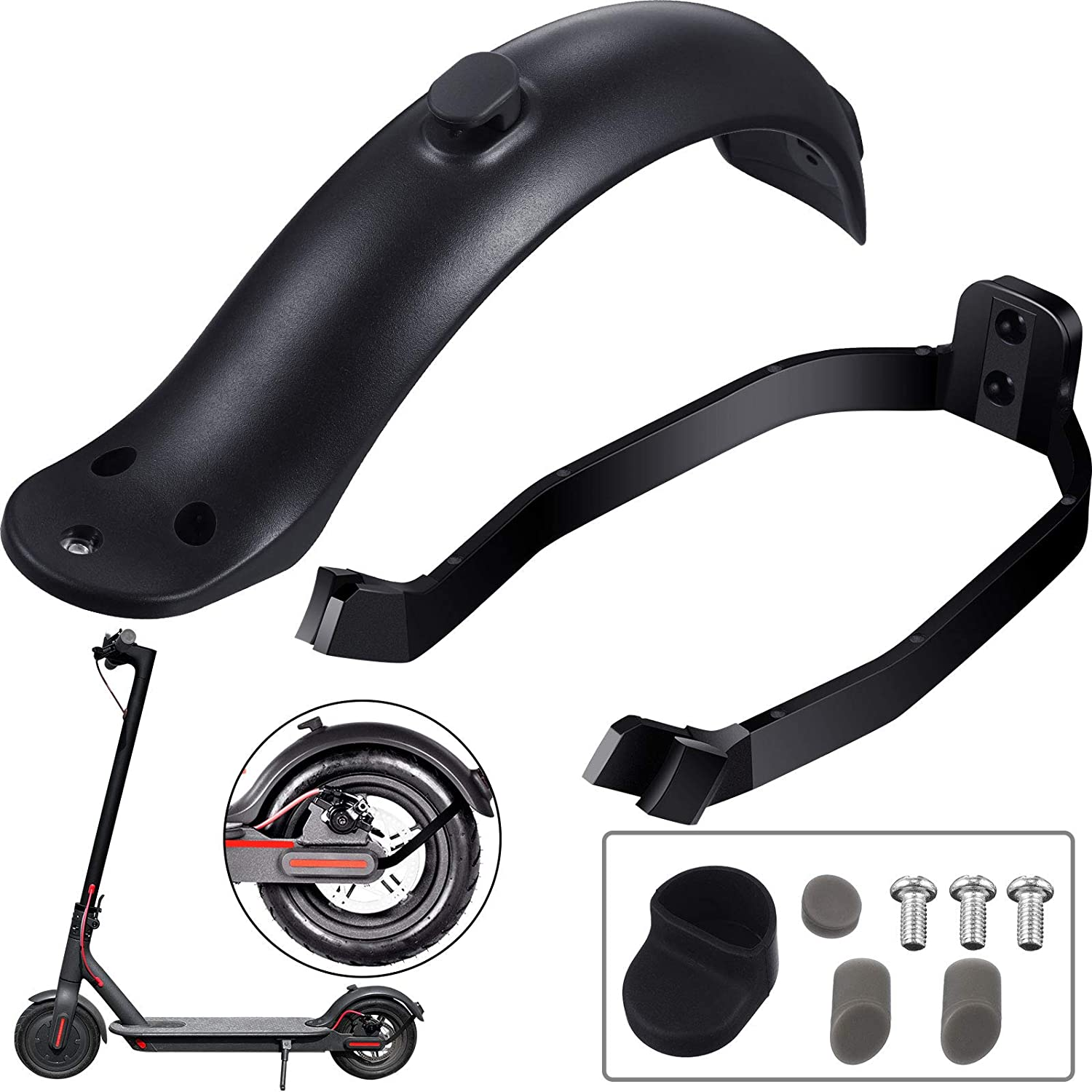 Fender Support for Xiaomi M365//M365 Pro Scooter Rear Mudguard Accessories L/&6