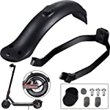 2 Pieces Rear Fender Mudguard Bracket Rear Fender Scooter Replacement Accessory Support for Xiaomi M365/ M365 Pro Scooter wit