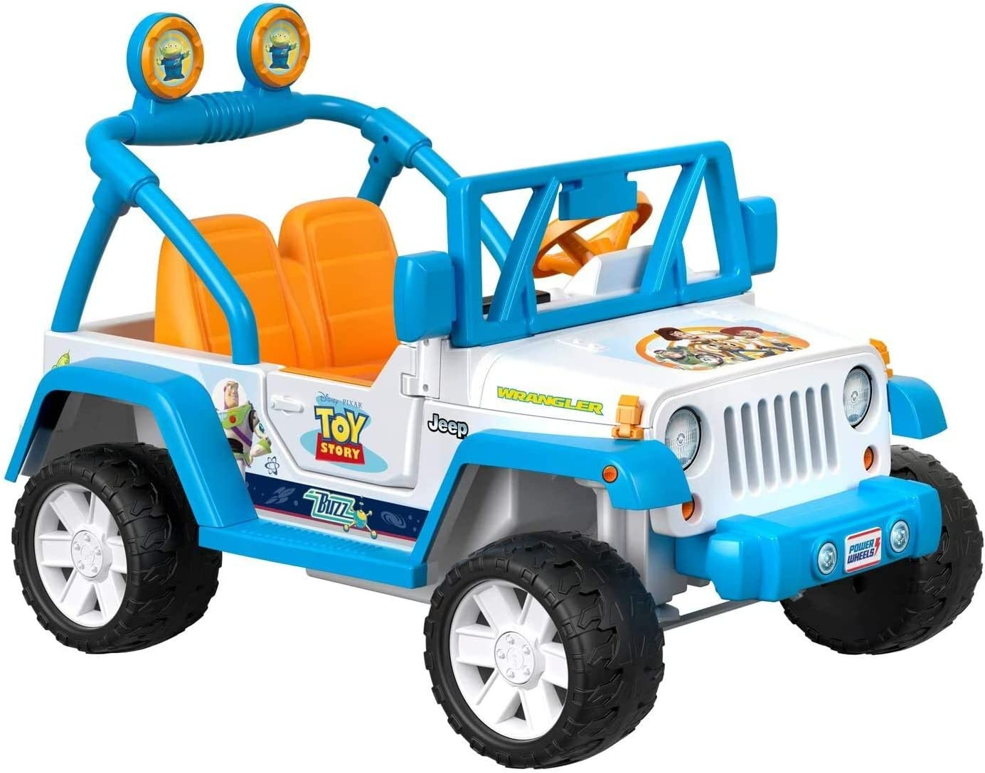 Power Wheels Disney Jeep Wrangler
