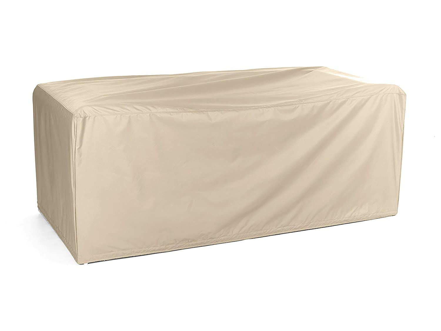 Covermates Modular Sectional Sofa Cover Heavy Duty Material – Water and Weather Resistant – Patio Furniture Covers – Khaki