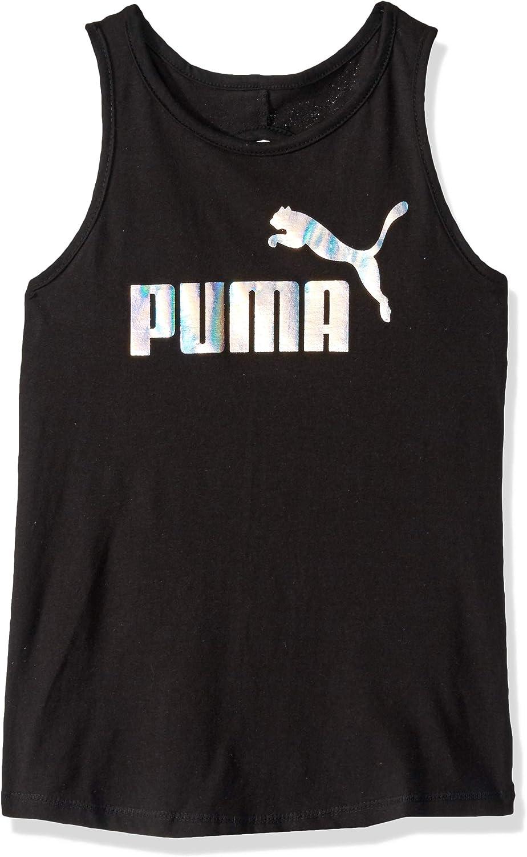 PUMA Girls Keyhole Tank