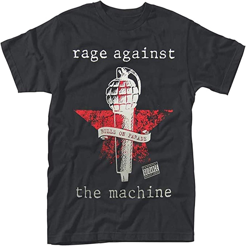 Rage Against The Machine 'Bulls On Parade Mic' T-Shirt