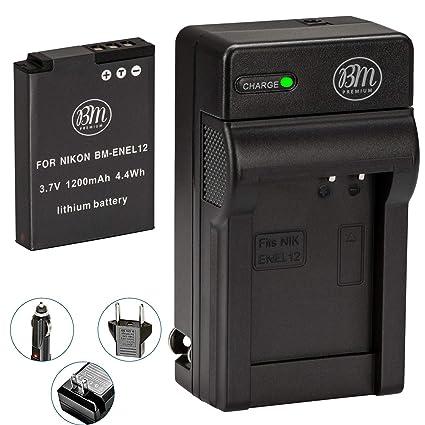 Amazon.com: EN-EL12 Batería para Cámara digital Nikon ...