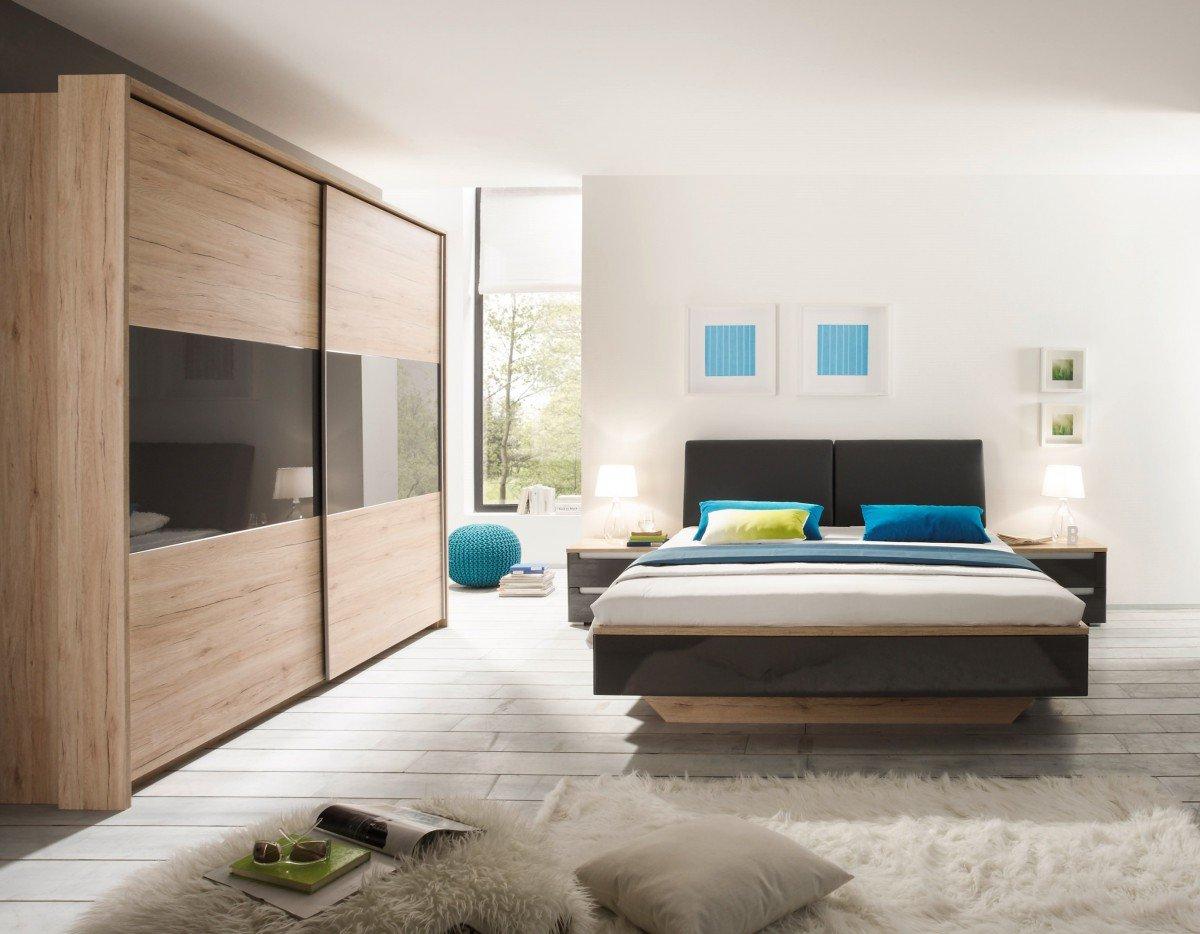 Schlafzimmer schranke grau for Kuchengriffe schwarz