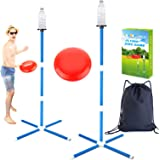 YEEBAY Outdoor Game Set - Lawn Games Yard Games - New Fun Disc Toss Game for Family Adult & Kids, Play at Beach, Grass, Sand,